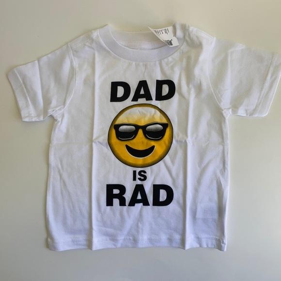 """Children's Place """"Dad is Rad"""" Tshirt, 18-24 M"""